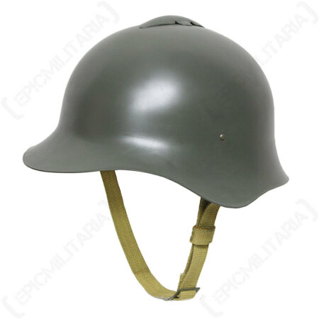 img-WW2 Russian M36 Helmet - Soviet Steel Kaska Spanish Republican Liner Repro New