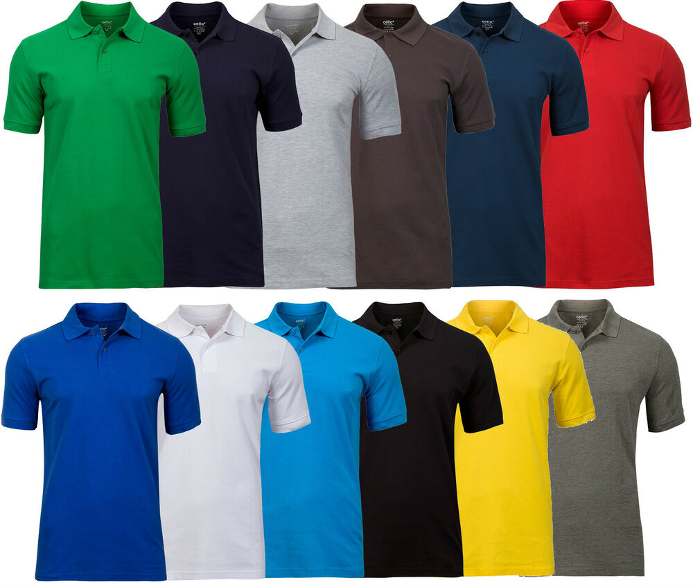 Mens designers branded celio mens summer polo t shirts 100 for Branded polo t shirts