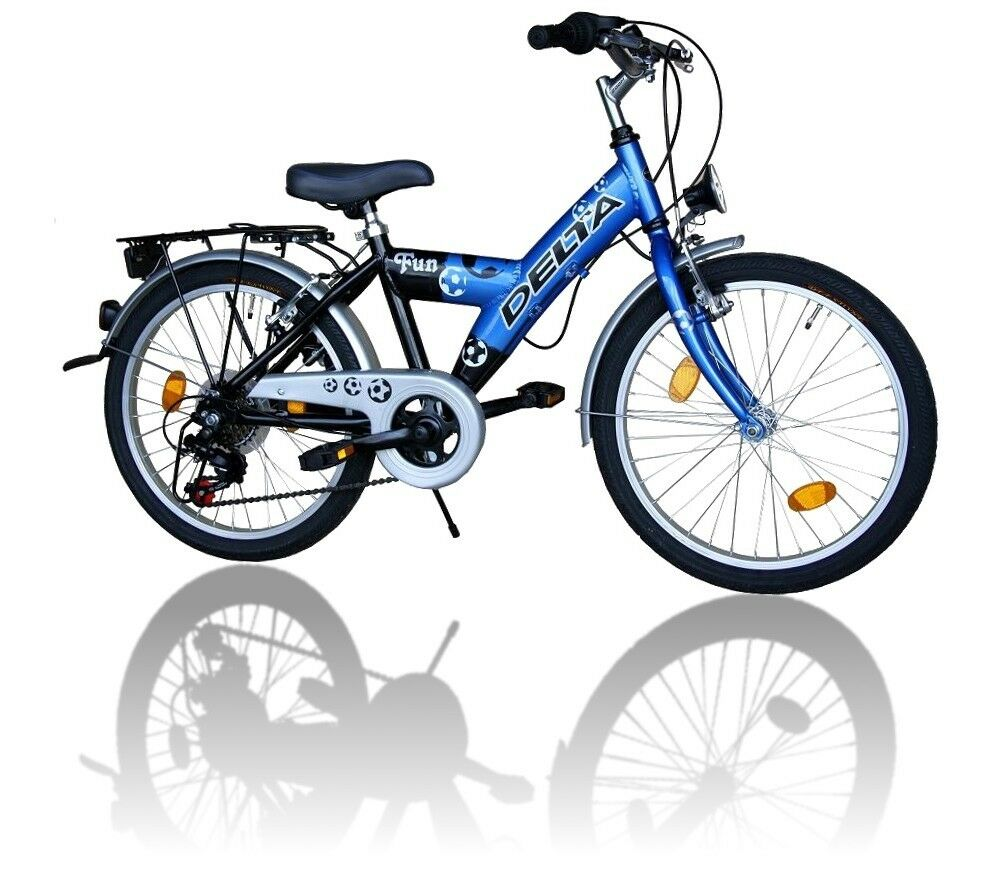 delta kinderfahrrad 20 zoll fahrrad 6 gang shimano 018blau. Black Bedroom Furniture Sets. Home Design Ideas