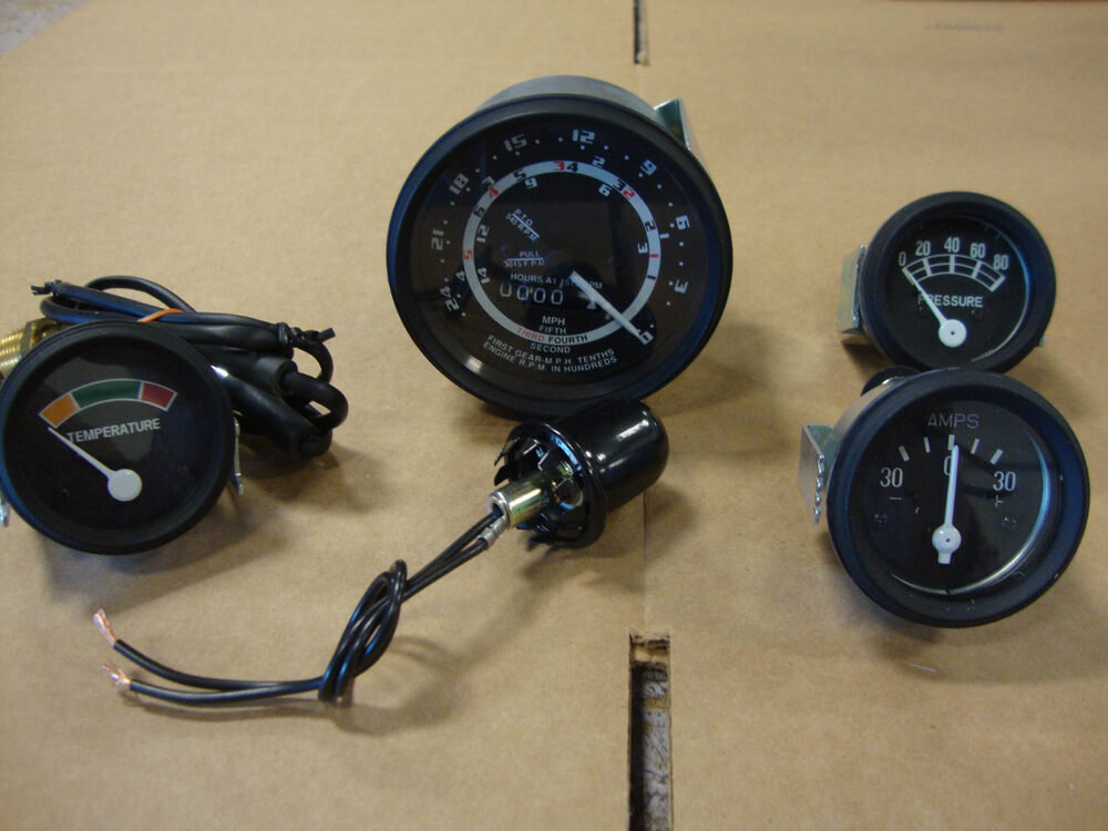 Ford Tractor Fuel Gauge : Ford tractor speed