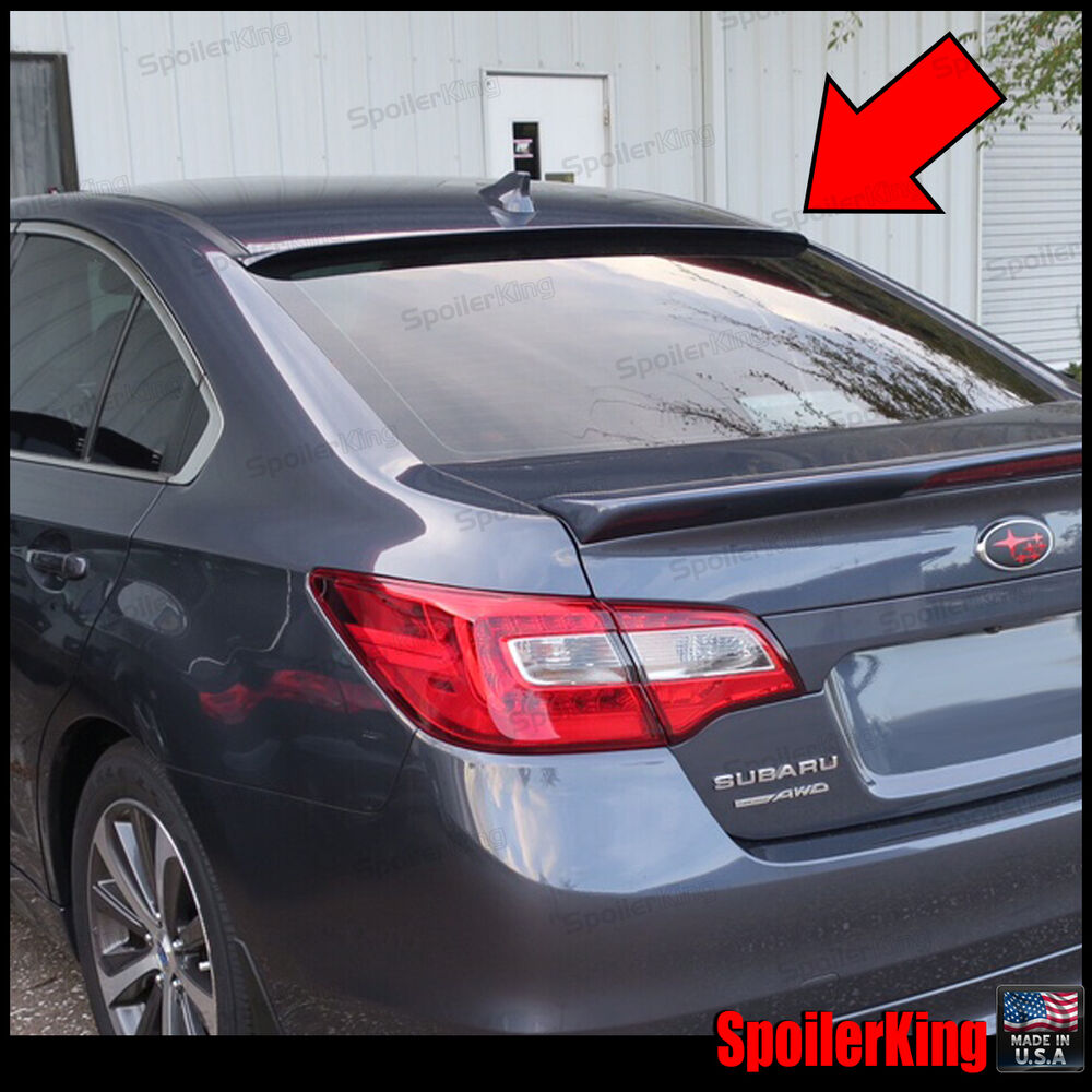Rear Roof Spoiler Window Wing Fits Subaru Legacy 2015