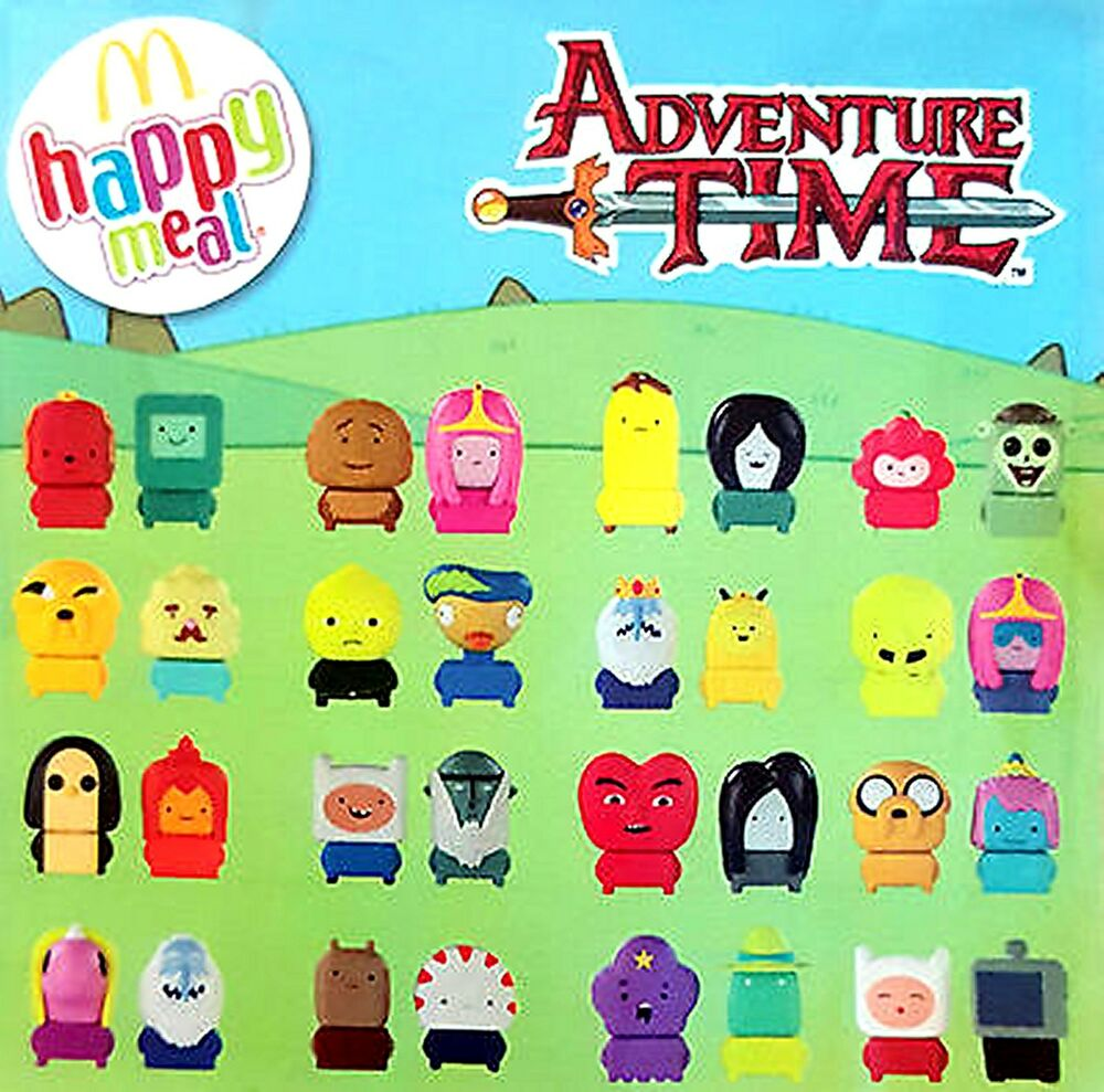 2016 Mcdonalds Happy Meal Toys Cartoon Network Adventure
