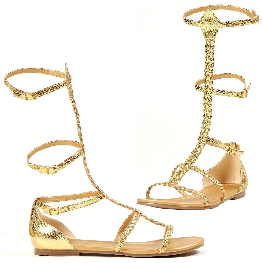 Cairo Egyptian Cleopatra Greek Goddess Gladiator Sandal ...