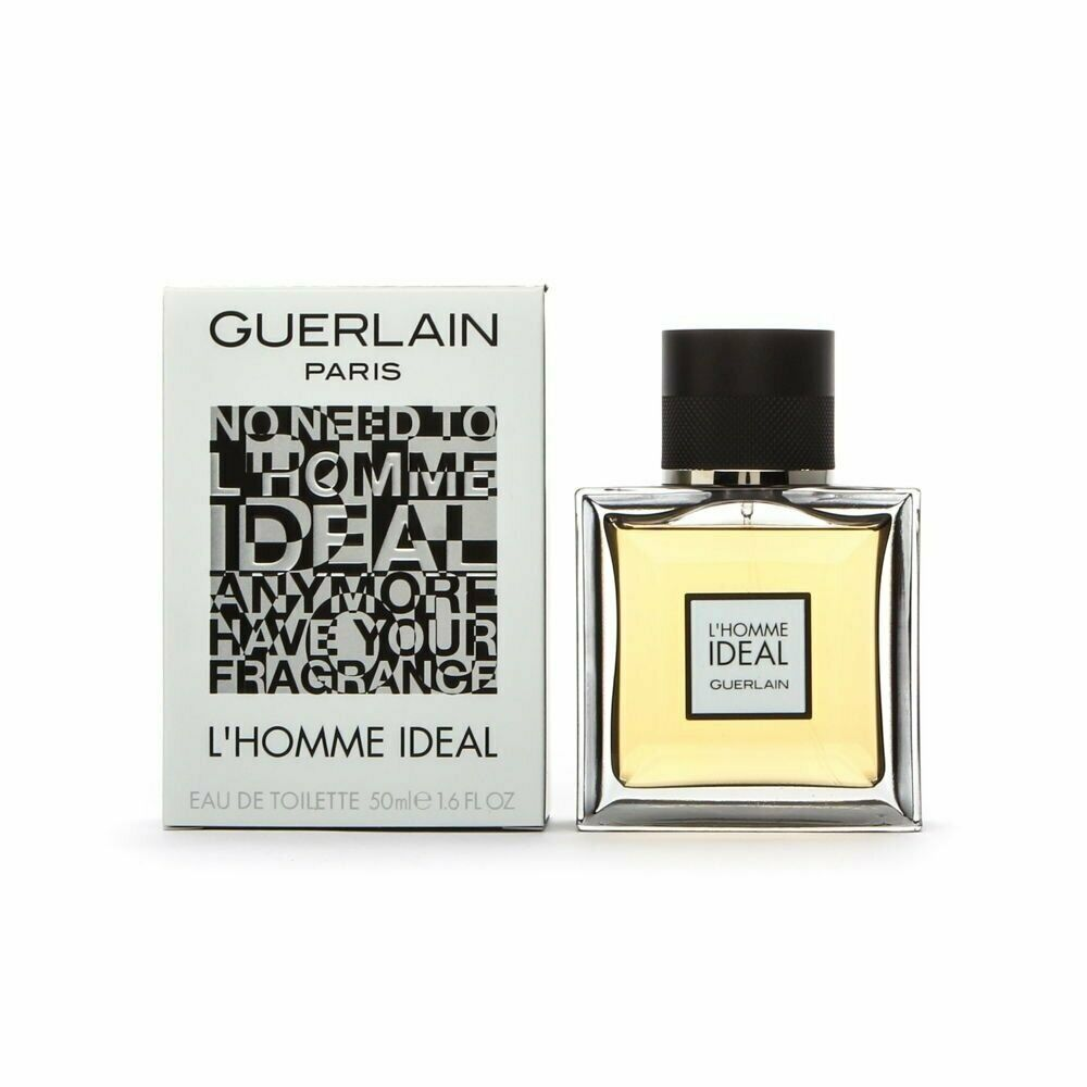 guerlain l 39 homme ideal 1 6 oz edt eau de toilette spray men 39 s cologne 50 ml nib ebay. Black Bedroom Furniture Sets. Home Design Ideas