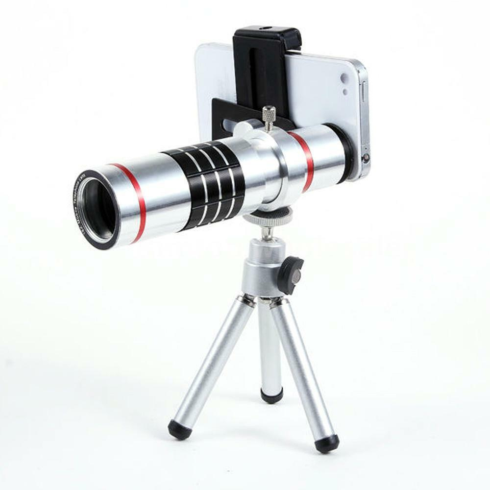 iphone zoom lens universal 18x zoom phone telephoto lens with tripod 12509