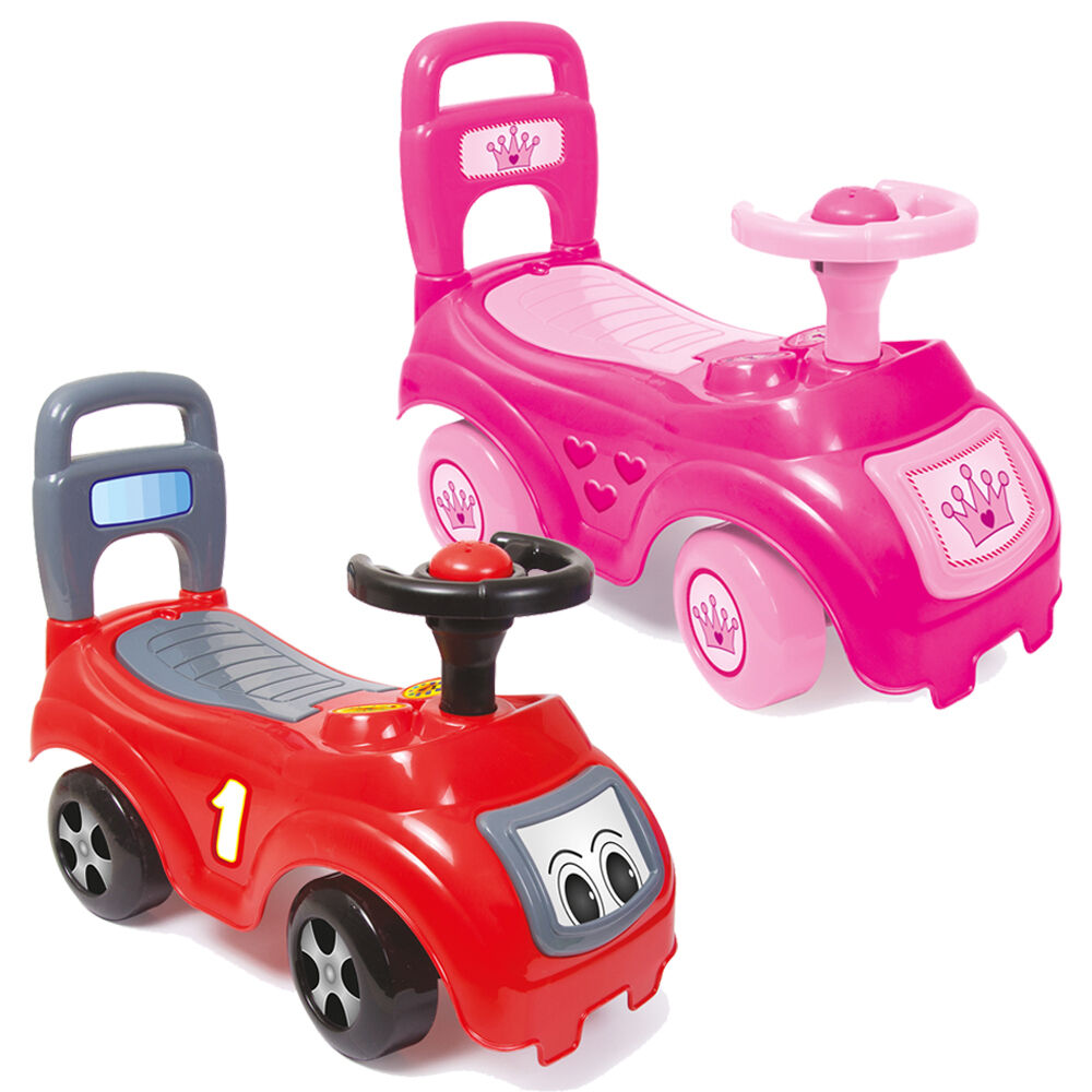Dolu My First Ride On Toy Kids Cars Girls Boys Push Along