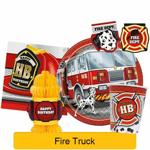 Fire Engine Party Decorations