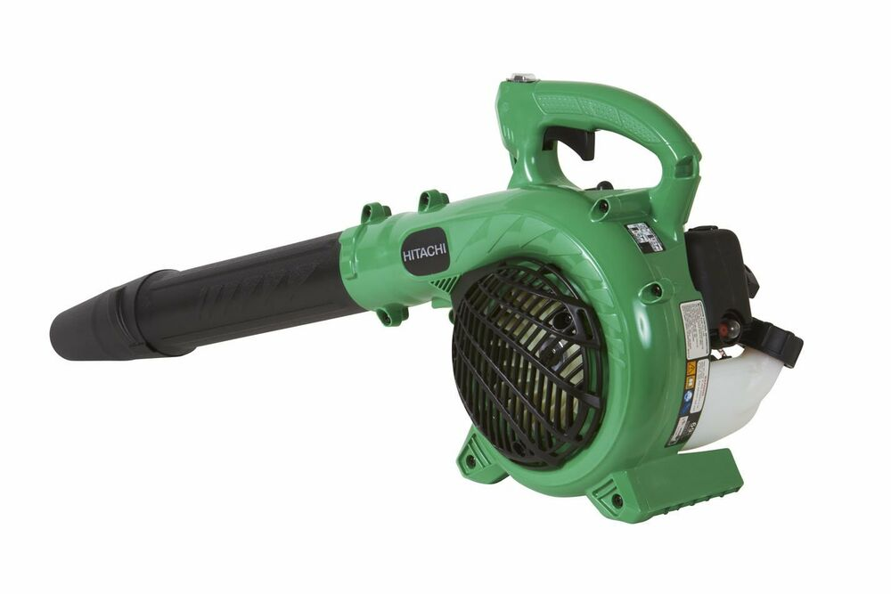 Gas Powered Blowers : Hitachi rb eap cc cycle gas powered handheld leaf