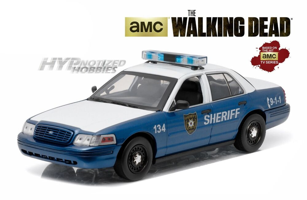 Greenlight 1 18 the walking dead ford crown victoria