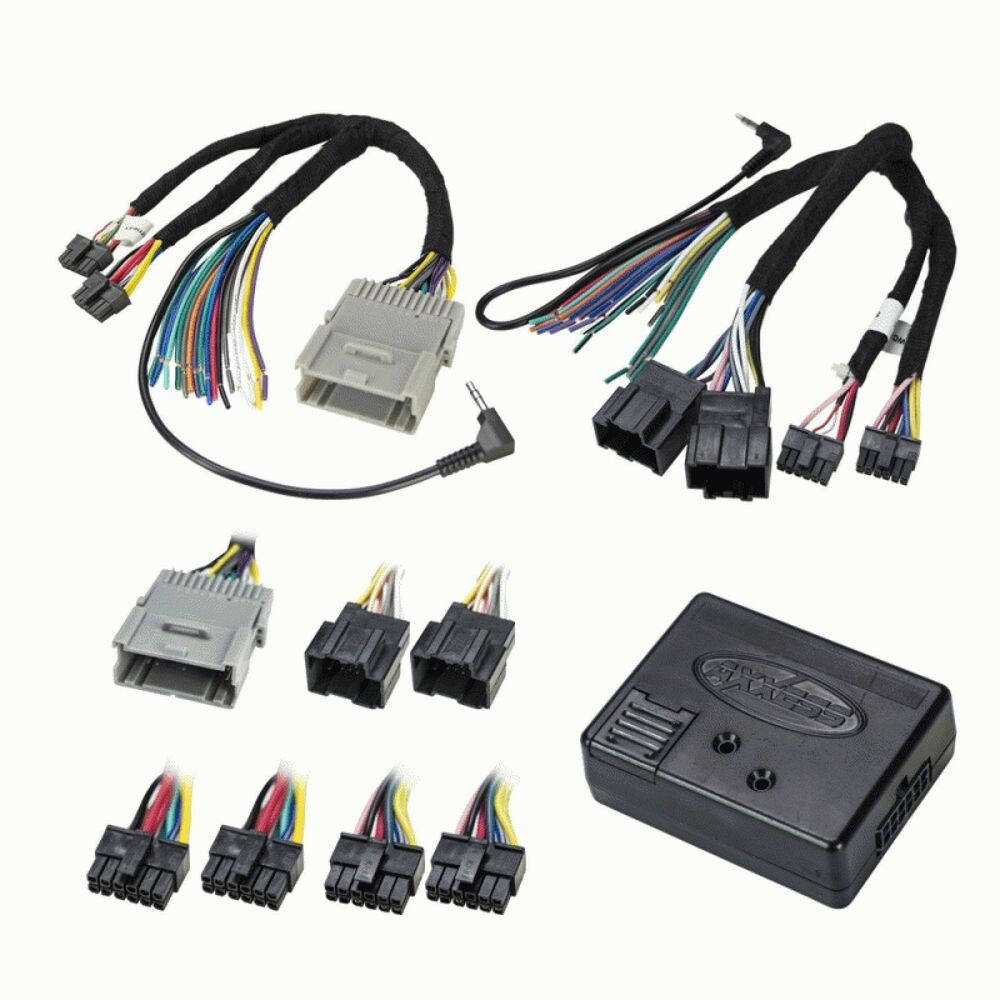 Factory Wiring Harness Replacement : Car radio stereo factory interface replacement w wiring