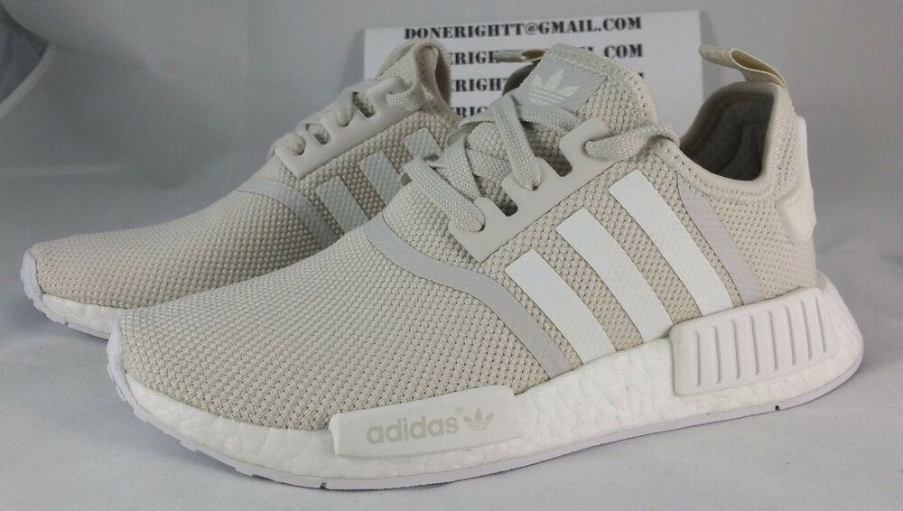 adidas nmd r1 beige cream tan talc chalk white ultra boost monochrome f f s76007 ebay. Black Bedroom Furniture Sets. Home Design Ideas