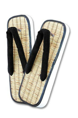 Straw Zori Sandals Japanese Shoes Mens Amp Womens Sizes