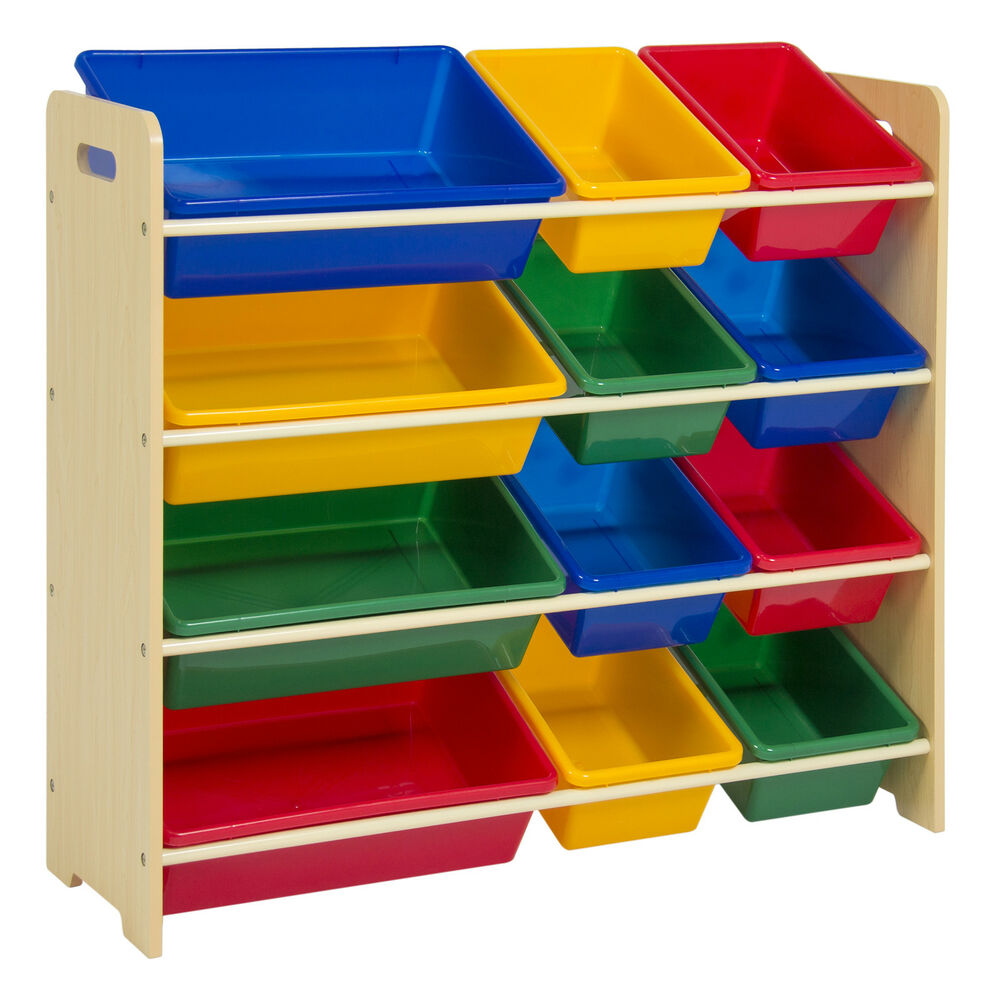 toy bin organizer kids childrens storage box playroom