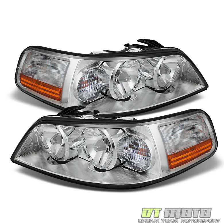 Car Headlights Replacement : Lincoln town car headlights headlamps