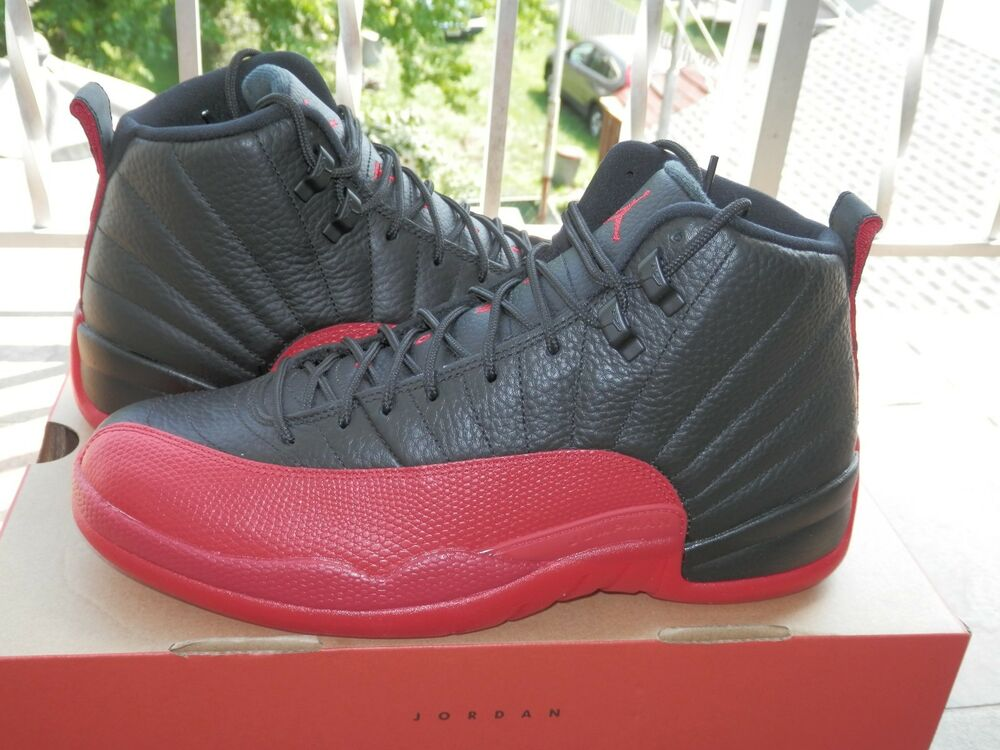 3a1a63bfded2 2016 Nike Air Jordan XII Retro 12 Flu Game Varsity Red 130690-002 Foot  Locker!