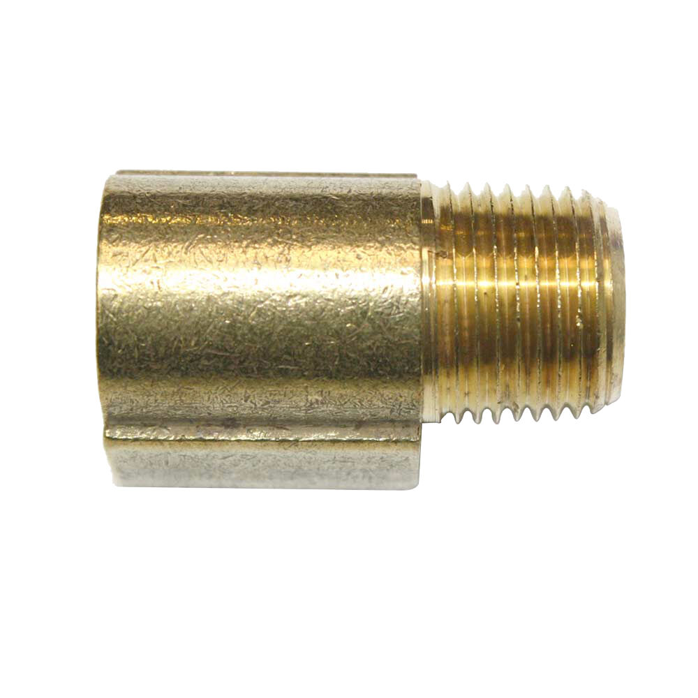 Solid brass street pipe elbow fitting quot npt