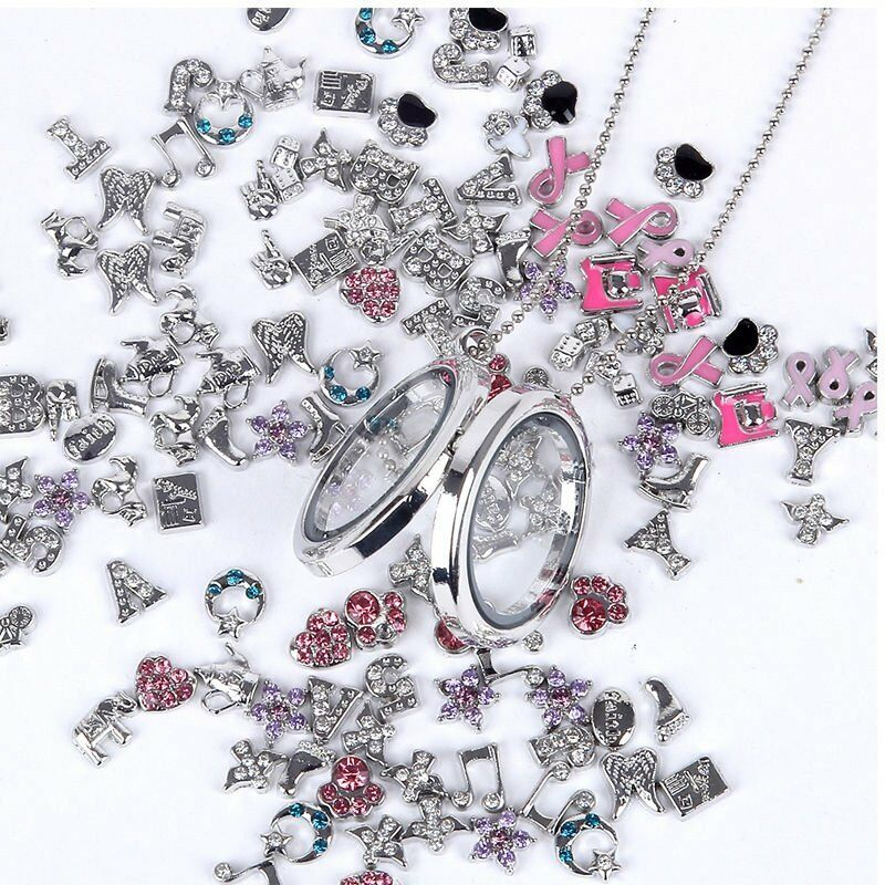 Wholesale 50 100pcs Lots Diy Floating Charm For Glass