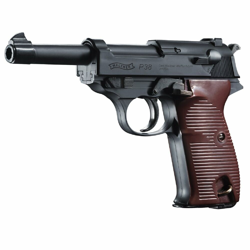 Umarex 2252730 walther p38 bb 177 caliber co2 semi auto for Www bb