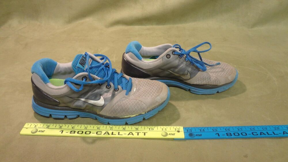 37073a54af5df Details about Nike LunarGlide + 2 Men s Running Shoes Size 9 Gray  407648-010  used sneakers