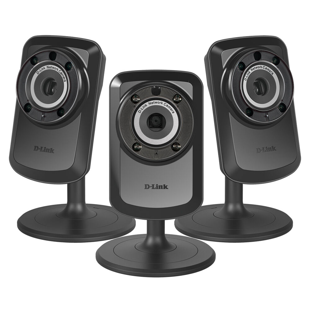 D-Link Wireless Day And Night Home Security Network Cameras