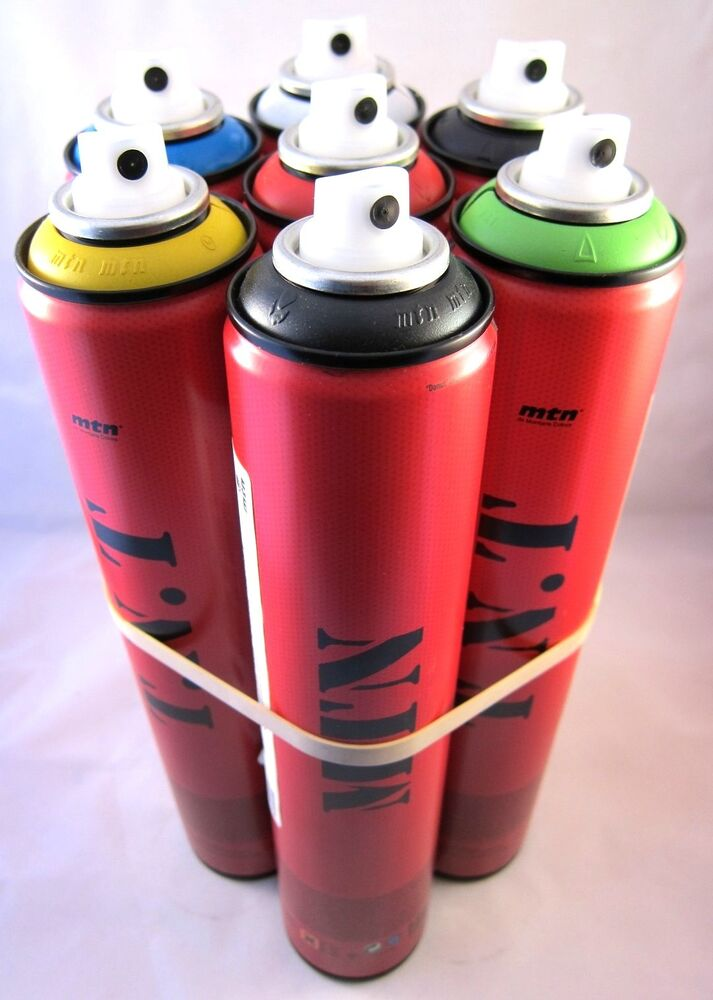 mtn montana tnt 400ml spray can all 7 matte colors to choose from. Black Bedroom Furniture Sets. Home Design Ideas