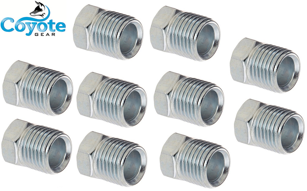 Pack of quot tube flare thread inverted steel