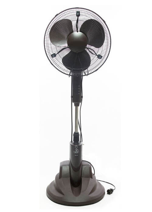 Outdoor Stand Up Fans : Quot outdoor misting fan pedestal oscillating