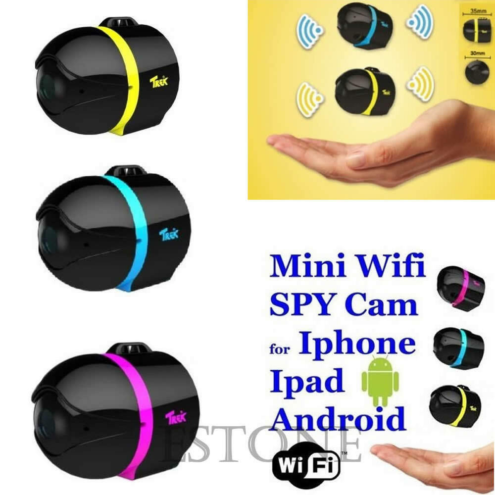 ball mini wifi remote cam ip wireless spy surveillance camera for iphone android ebay. Black Bedroom Furniture Sets. Home Design Ideas