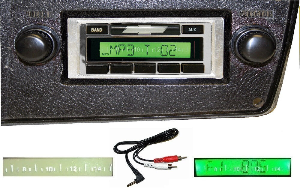 1973-1986 chevy truck radio free aux cable am fm stereo ... 1986 f250 radio wiring diagram 1986 gmc radio wiring #12