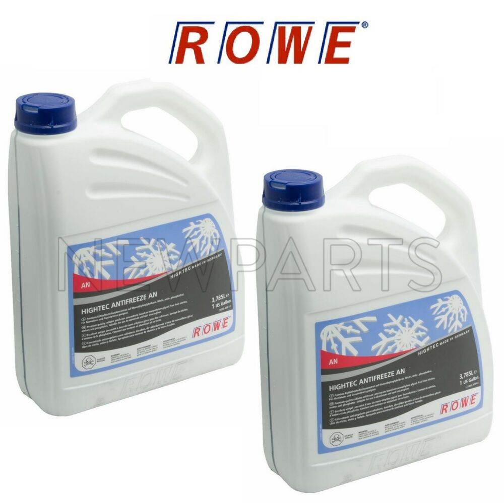 for bmw 2 gallons rowe german engine coolant antifreeze fluid bluedetails about for bmw 2 gallons rowe german engine coolant antifreeze fluid blue concentrated