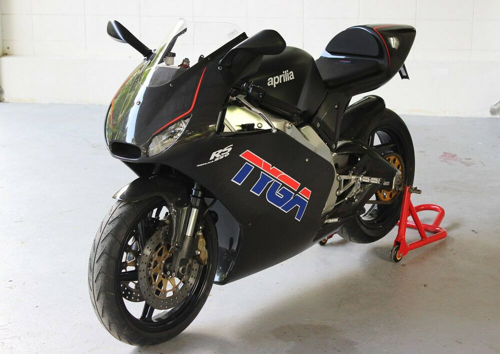 aprilia rs 250 tyga carbon gp style bodykit rs250 ebay. Black Bedroom Furniture Sets. Home Design Ideas