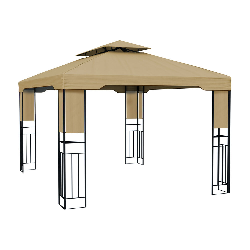 pavillon 4x3m partyzelt garten pavillion gartenzelt zelt gartenpavillon metall ebay. Black Bedroom Furniture Sets. Home Design Ideas