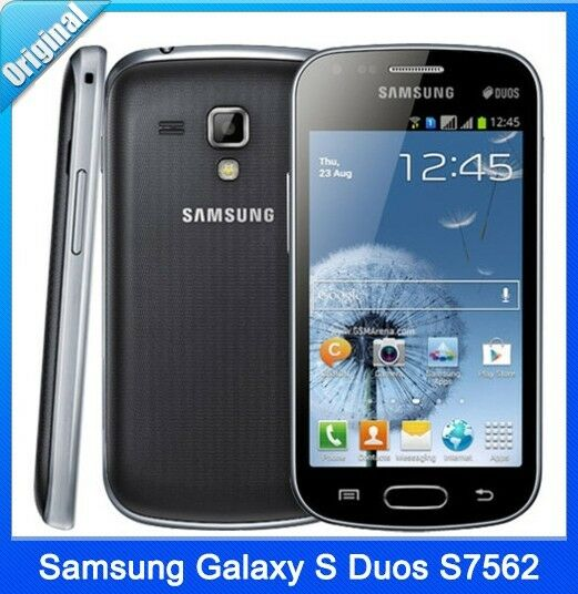 original unlocked samsung galaxy s duos gt s7562 4gb dual sim android smartphone ebay. Black Bedroom Furniture Sets. Home Design Ideas