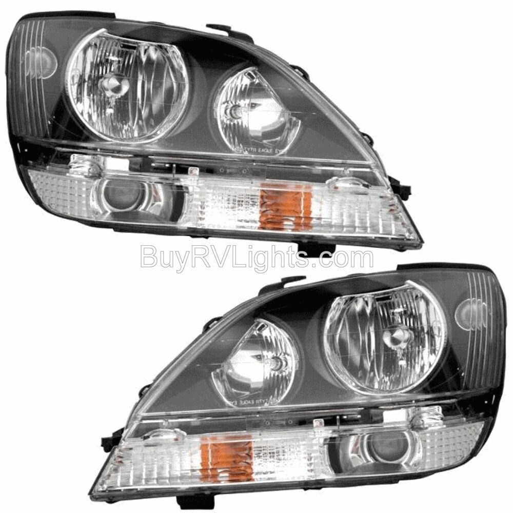 Coachmen Pathfinder 2012 2013 Pair Set Headlights Head Lights Front Lamps Rv Ebay