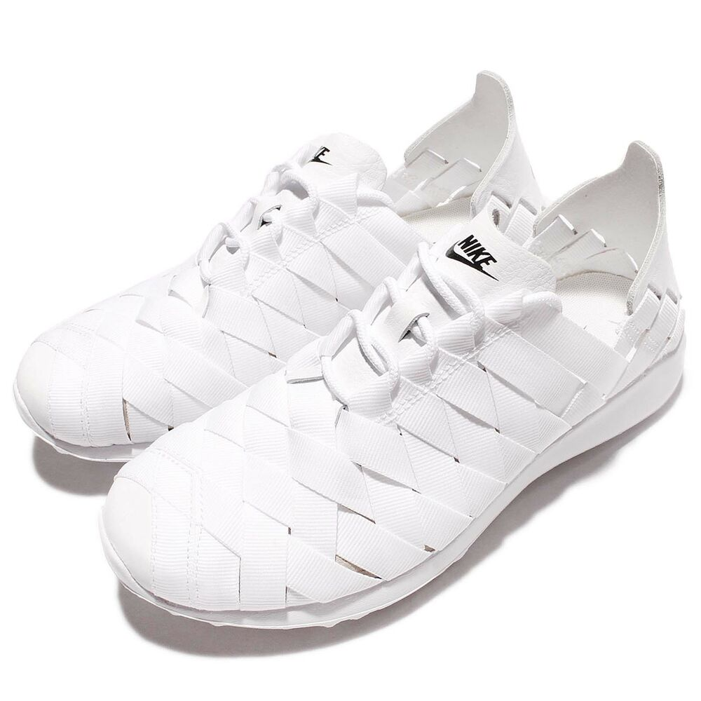 wmns nike juvenate woven white black womens running shoes. Black Bedroom Furniture Sets. Home Design Ideas