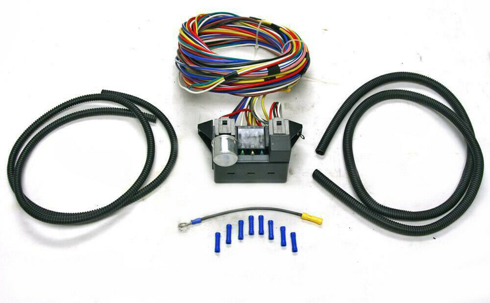 12 Circuit Universal Wiring Harness Muscle Car Hot Street Manual Guide