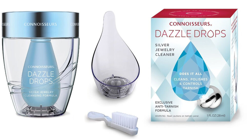 Connoisseurs dazzle drops silver jewelry cleaning kit for Jewelry cleaning kit target