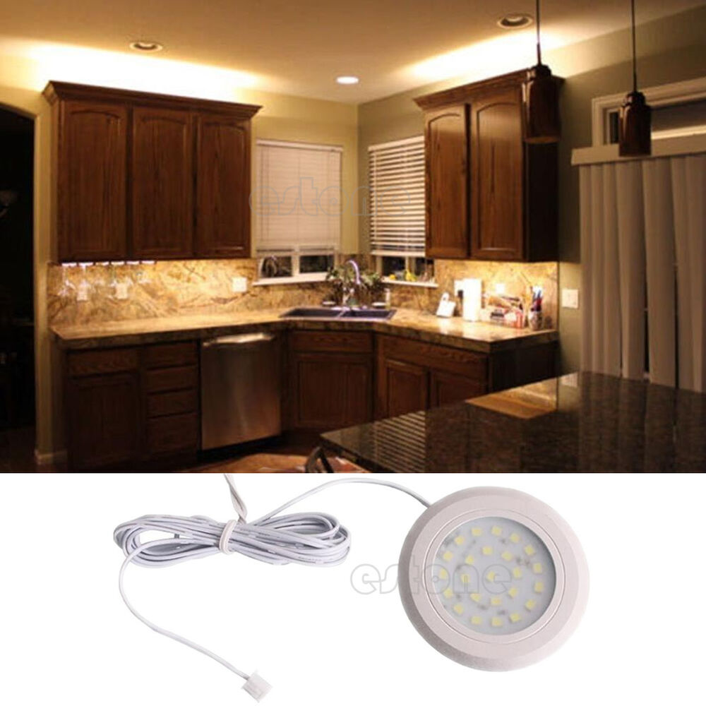 DC 12V 24 SMD LED Kitchen Under Cabinet Light Home Under