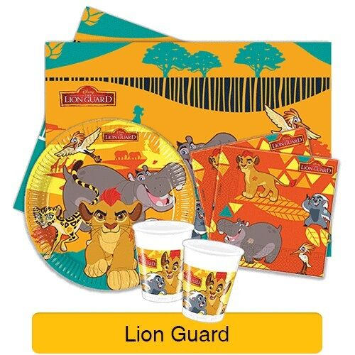 the lion guard king tableware  cups  plates  napkins