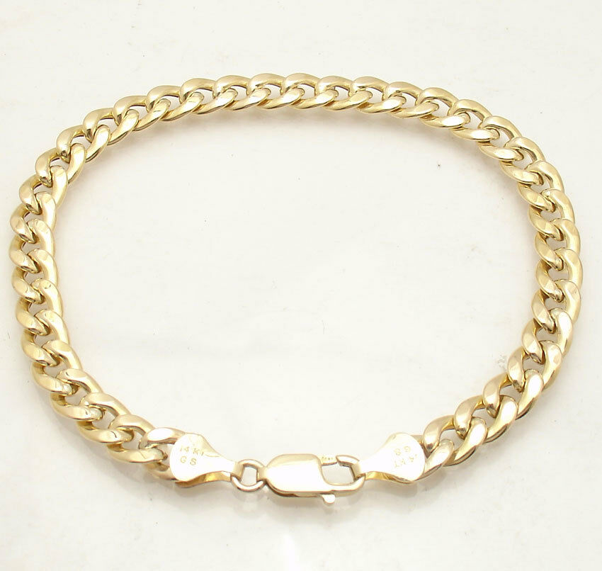 10 Quot 8mm Semi Solid Curb Cuban Chain Ankle Bracelet Anklet