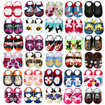 Soft Sole Leather Baby Shoes Boy Girl Infant Toddler Kid Child Gift Crib 0-3 Y