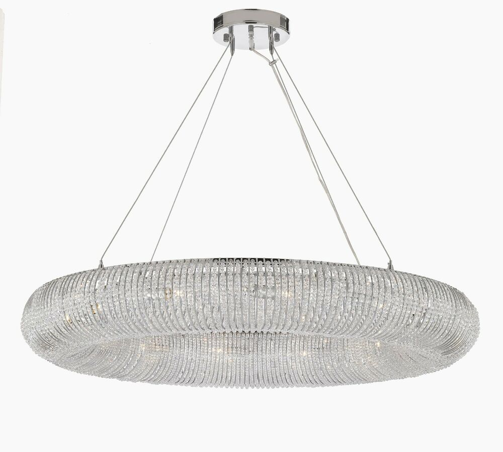Crystal Halo Chandelier Moderncontemporary Lighting