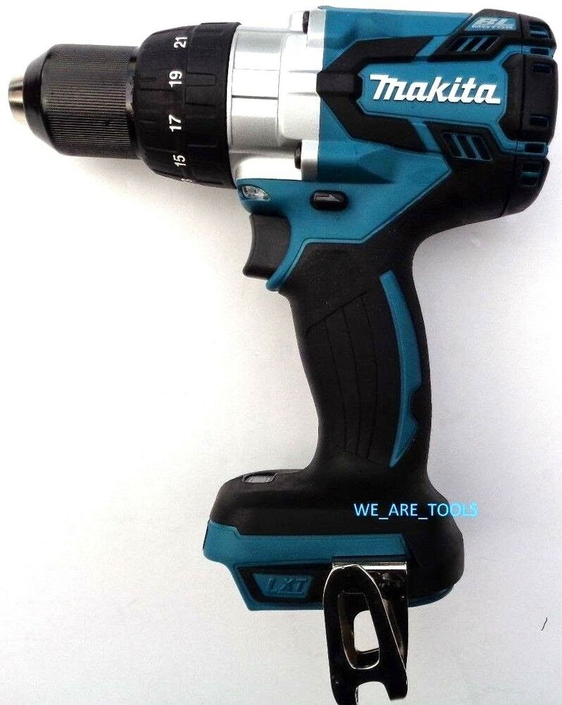 new makita 18v xph07 lxt cordless brushless 1 2 hammer. Black Bedroom Furniture Sets. Home Design Ideas