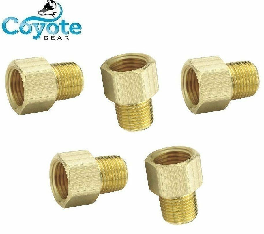 Pack quot female inverted flare tube male npt