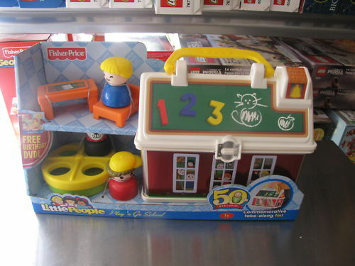 Fisher Price Play 'n Go School House Little People  eBay