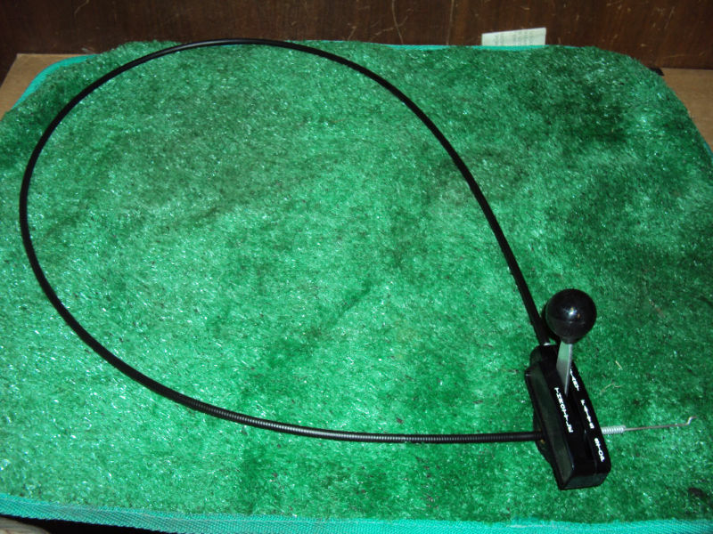 Push Mower Cables : Craftsman walk behind lawn mower throttle control cable ebay