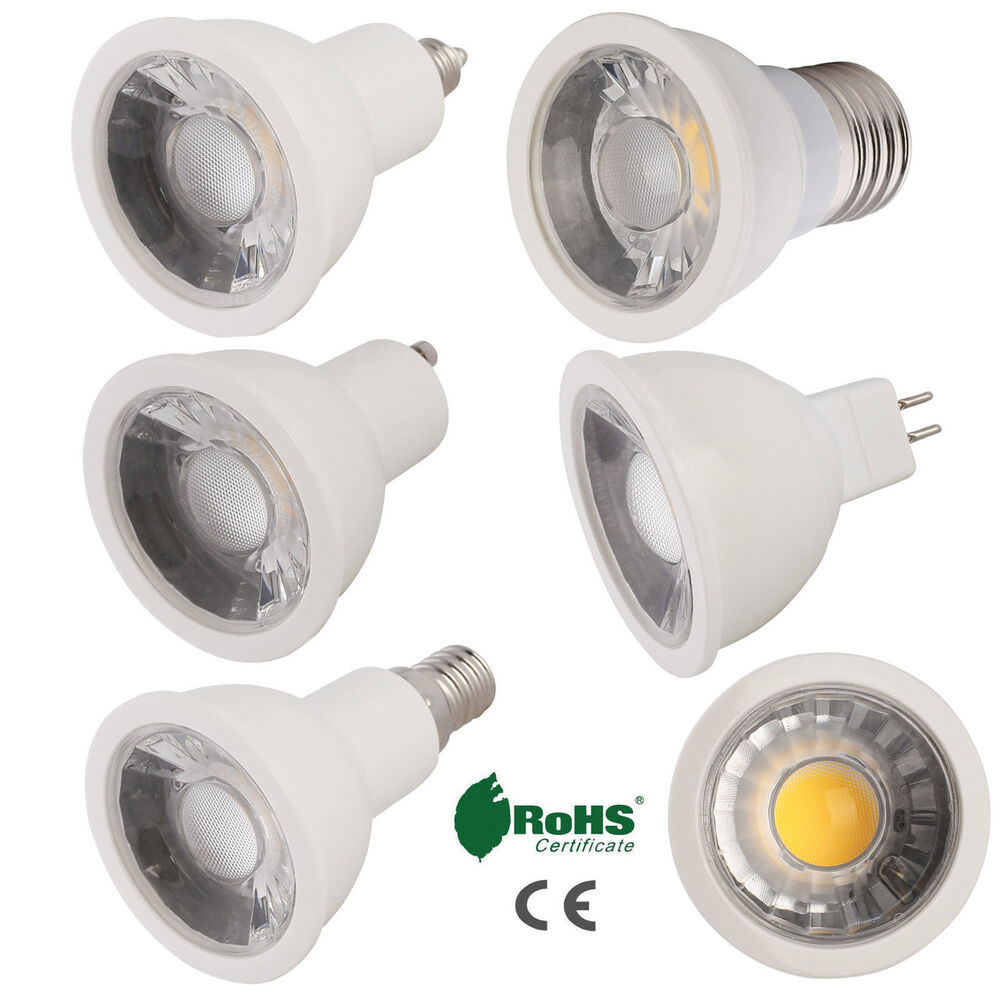 dimmable led spotlight bulb gu10 mr16 e26 e27 e11 e12 e14 15w white lamp bright ebay. Black Bedroom Furniture Sets. Home Design Ideas