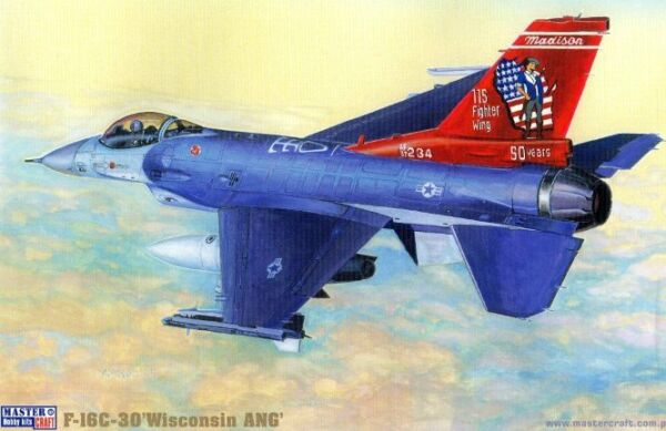 F-16 C-30 FIGHTING FALCON 1//72 MISTERCRAFT USAFE /'RAMSTEIN DRAGON/' SPECIAL MKGS