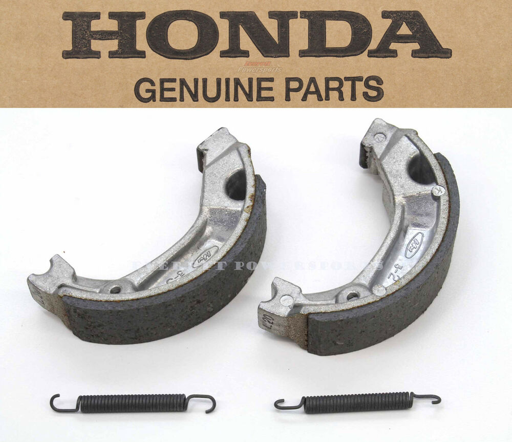 New Genuine Honda Front Rear Brake Shoes Pads CT XL XR MR MT CB (See Notes) #N90 | eBay