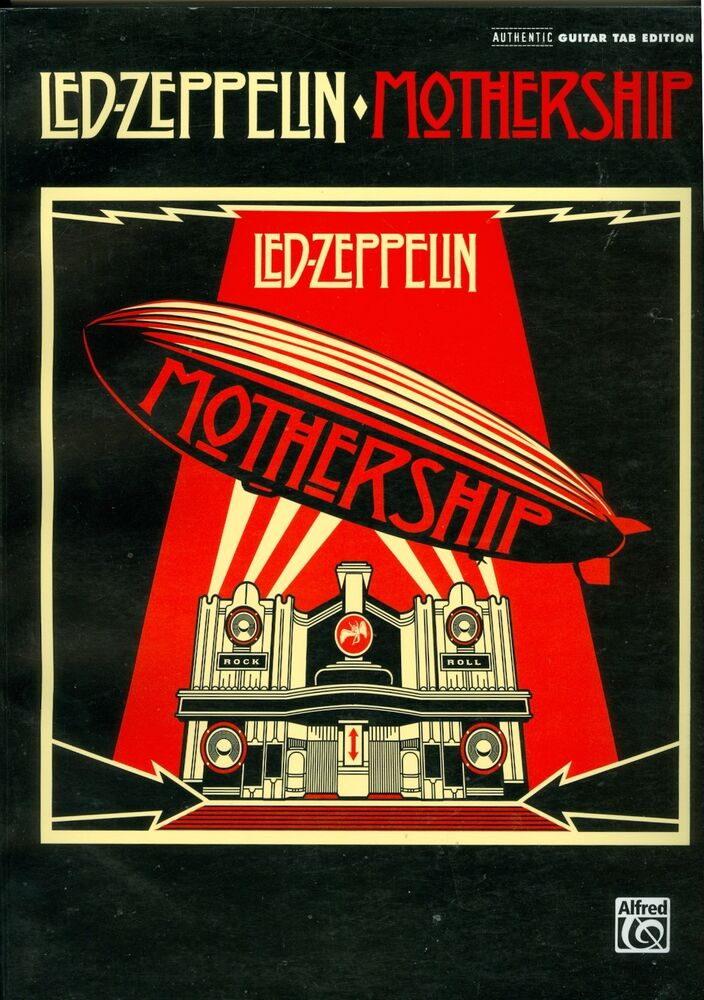 led zeppelin mothership authentic guitar tab edition songbook sheet music 9780739053171 ebay. Black Bedroom Furniture Sets. Home Design Ideas